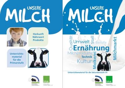 """Unterrichtsmaterial zur Milch mit """"sehr gut"""" bewertet"""