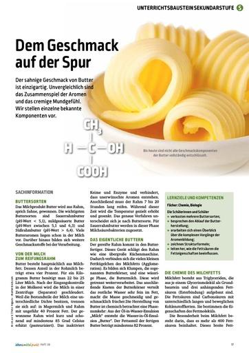 Butter - Dem Geschmack auf der Spur