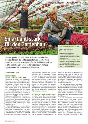 Smart und stark für den Gartenbau