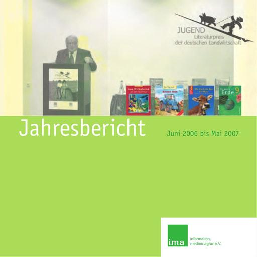 Jahresbericht 2006 / 2007