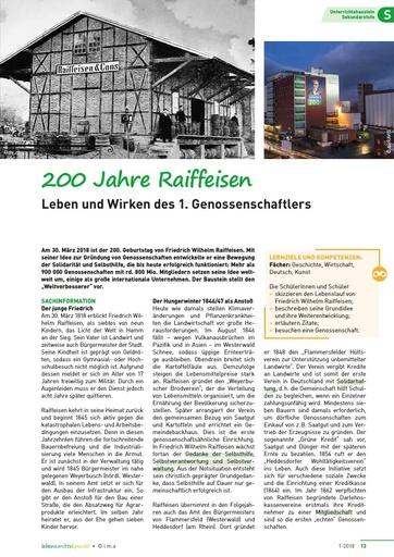200 Jahre Raiffeisen