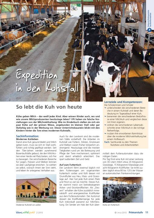 Expedition in den Kuhstall - So lebt die Kuh von heute