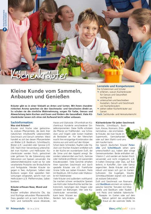 Küchenkräuter - Kleine Kunde vom Sammeln, Anbauen und Genießen