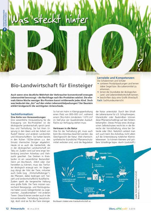 Was steckt hinter Bio? Bio-Landwirtschaft für Einsteiger
