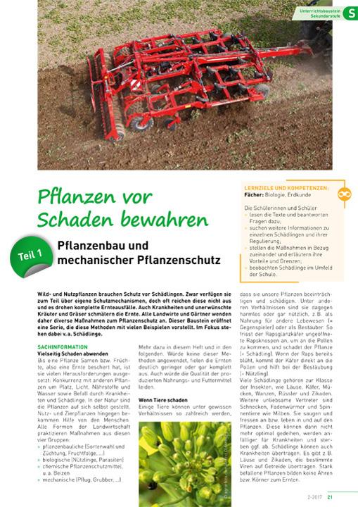 Pflanzen vor Schaden bewahren (1)