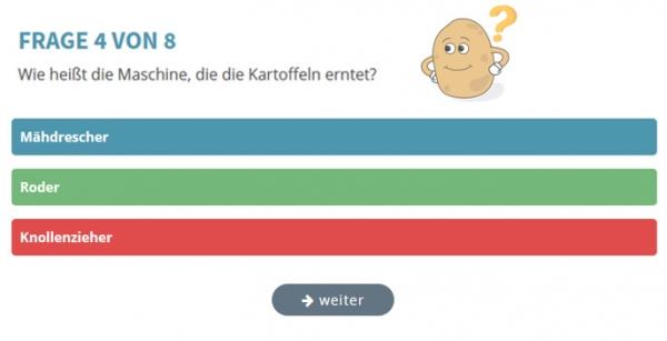 Das Kartoffel-Quiz