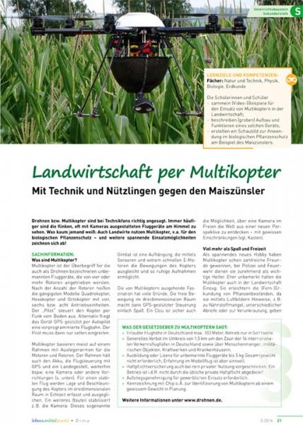 Landwirtschaft per Multikopter