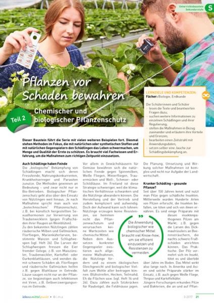 Pflanzen vor Schaden bewahren (2)