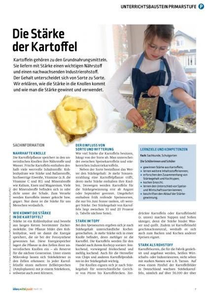 Die Stärke der Kartoffel