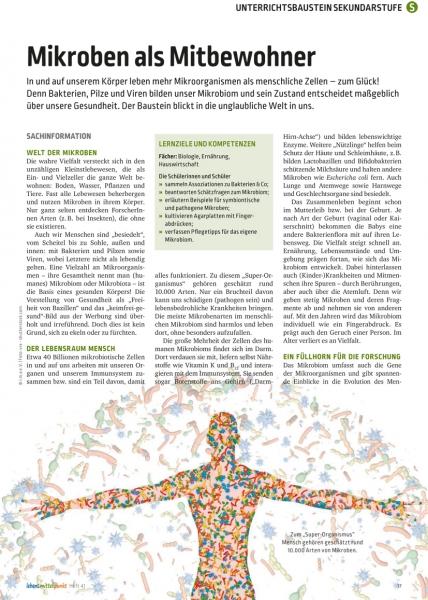 Mikroben als Mitbewohner