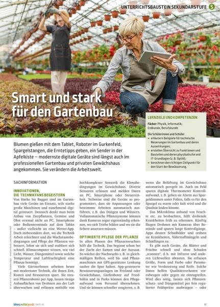 Moderner Gartenbau