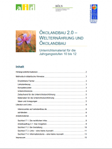 Ökolandbau 2.0 – Welternährung und Ökolandbau