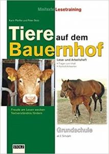 Tiere auf dem Bauernhof – Lesetraining