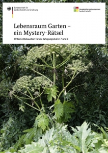 Lebensraum Garten – ein Mystery-Rätsel